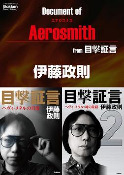ドキュメント オブ エアロスミス from 目撃証言-電子書籍