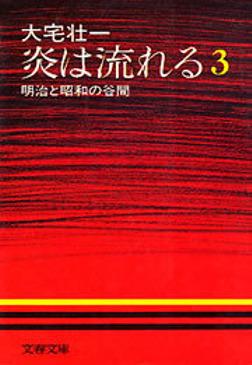 炎は流れる(3) 明治と昭和の谷間-電子書籍