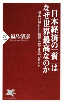 日本経済の「質」はなぜ世界最高なのか 国連の超GDP指標が教える真の豊かさ-電子書籍