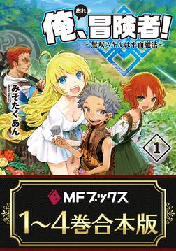 【合本版】俺、冒険者! ~無双スキルは平面魔法~ 全4巻-電子書籍