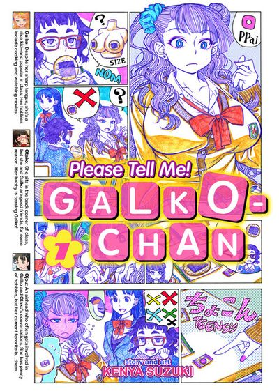 Please Tell Me! Galko-chan Vol 01