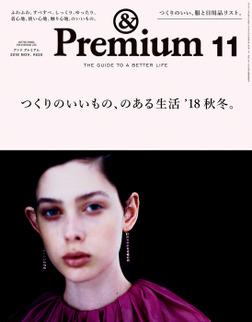 &Premium(アンド プレミアム) 2018年11月号 [つくりのいいもの、のある生活'18秋冬。]-電子書籍
