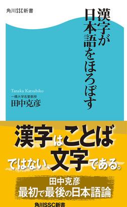 漢字が日本語をほろぼす-電子書籍
