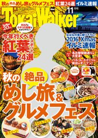 TokaiWalker東海ウォーカー 2016 11月号
