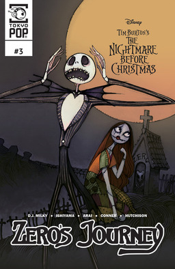 Disney Manga: Tim Burton's The Nightmare Before Christmas: Zero's Journey Issue #3