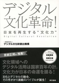 """デジタル文化革命! 日本を再生する""""文化力""""-電子書籍"""