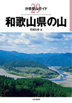 分県登山ガイド 29 和歌山県の山-電子書籍