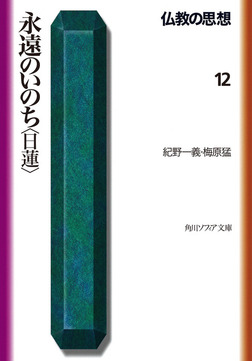仏教の思想 12 永遠のいのち<日蓮>-電子書籍