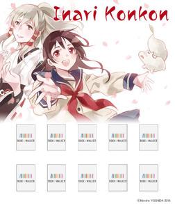 Inari Konkon 10: Bookshelf Skin [Bonus Item]-電子書籍