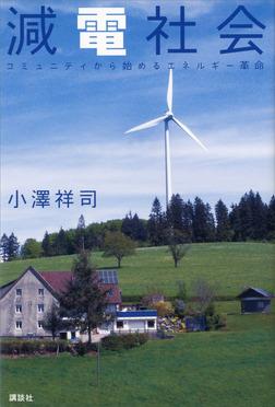 減電社会 コミュニティから始めるエネルギー革命-電子書籍