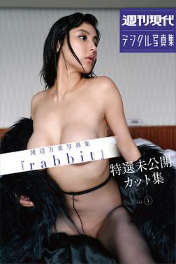 渡辺万美写真集「rabbit 特選未公開カット集vol.1」 週刊現代デジタル写真集-電子書籍