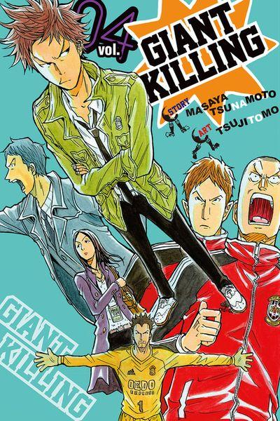 Giant Killing Volume 4