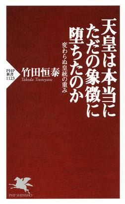 天皇は本当にただの象徴に堕ちたのか 変わらぬ皇統の重み-電子書籍
