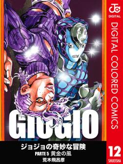 ジョジョの奇妙な冒険 第5部 カラー版 12-電子書籍
