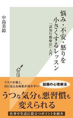 悩み・不安・怒りを小さくするレッスン~「認知行動療法」入門~-電子書籍