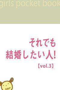 それでも結婚したい人!【vol.3】~ハッピーエンド最終章~