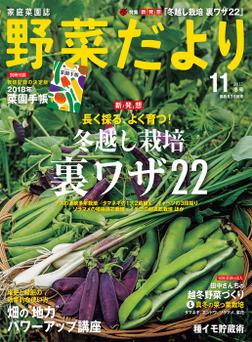 野菜だより2017年11月号-電子書籍