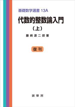 代数的整数論入門(上) 基礎数学選書 13A-電子書籍
