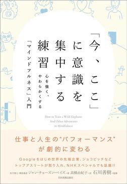 「今、ここ」に意識を集中する練習 心を強く、やわらかくする「マインドフルネス」入門-電子書籍