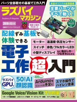 ラズパイマガジン 2019年6月号-電子書籍