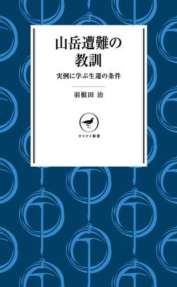 ヤマケイ新書 山岳遭難の教訓 --実例に学ぶ生還の条件---電子書籍