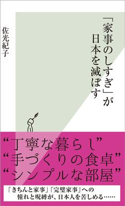 「家事のしすぎ」が日本を滅ぼす-電子書籍