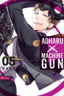 Aoharu X Machinegun, Vol. 5
