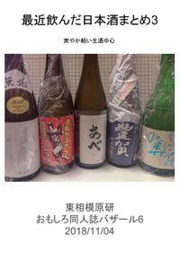 最近飲んだ日本酒まとめ3