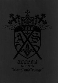 access『access tour 2006  blanc and rouge』オフィシャル・ツアーパンフレット【デジタル版】