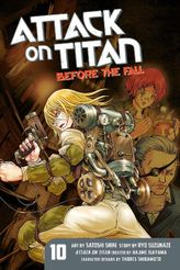 Attack on Titan: Before the Fall Volume 10
