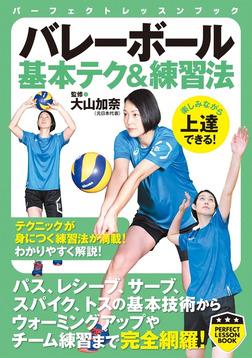 バレーボール 基本テク&練習法-電子書籍
