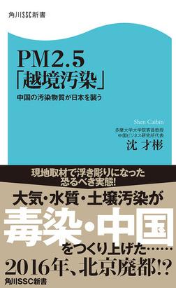 PM2.5「越境汚染」 中国の汚染物質が日本を襲う-電子書籍