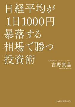 日経平均が1日1000円暴落する相場で勝つ投資術-電子書籍