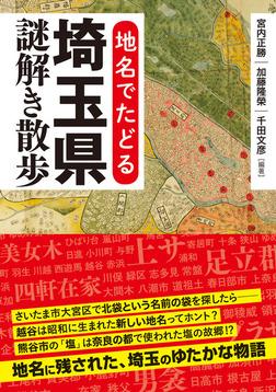 地名でたどる 埼玉県謎解き散歩-電子書籍