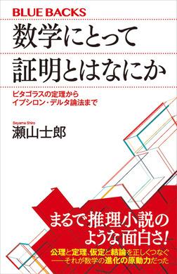 数学にとって証明とはなにか ピタゴラスの定理からイプシロン・デルタ論法まで-電子書籍