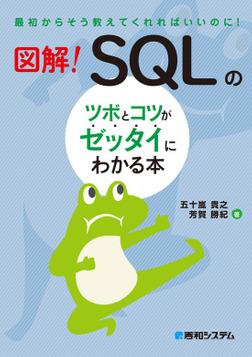 図解! SQLのツボとコツがゼッタイにわかる本-電子書籍