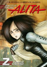 Battle Angel Alita Volume 2
