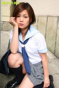 妄想女子校生『こすりすぎ♪』44