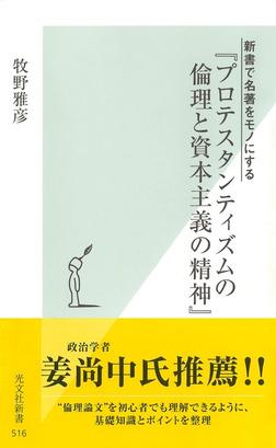 新書で名著をモノにする 『プロテスタンティズムの倫理と資本主義の精神』-電子書籍