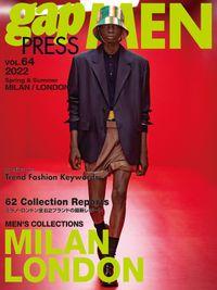 2022 S/S gap PRESS MEN vol.64 MILAN/LONDON