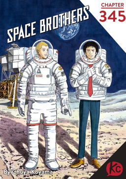 Space Brothers Chapter 345