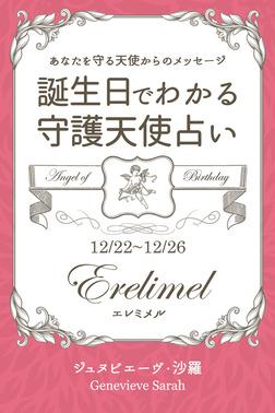 12月22日~12月26日生まれ あなたを守る天使からのメッセージ 誕生日でわかる守護天使占い-電子書籍