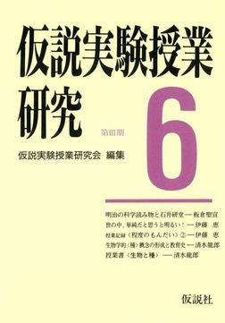 仮説実験授業研究 第3期 6-電子書籍