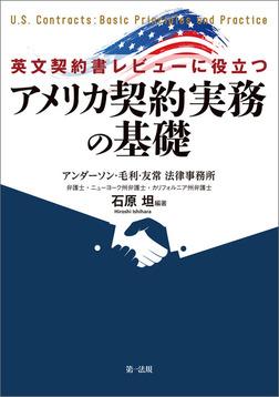 英文契約書レビューに役立つ アメリカ契約実務の基礎-電子書籍